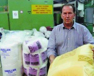 Pascal Cressaut sauve une entreprise de textile dans les Ardennes